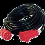 Kabel mit CEE Stecker/Kupplung 400 Volt